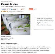 Mousse de Lima