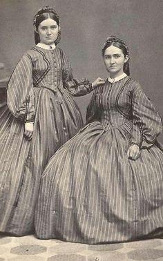 Sleeves! +~+~ Antique Photograph ~+~+ Twins - Civil War