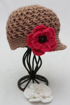 Little girl crochet hat