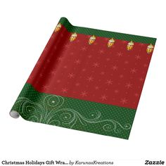 Christmas Holidays Gift Wrapping Paper