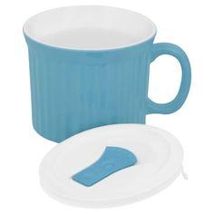Corningware 20 Oz Soup Mug With Lid-Pool Blue. #shopko #bestroomever2016