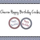 These chevron happy birthday circles can be used for Pixie Stixs, glow-in-the-dark sticks, birthday tags, or any other things you may desire. I hop...