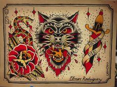 #traditional tattoo flash