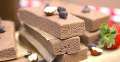Healthy Nutella Fudge Protein Bars - Desserts with Benefits