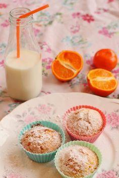 Receta: Muffins de mandarina en licuadora!!!