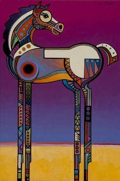 Spirit Horse Painting - Spirit Horse Fine Art Print