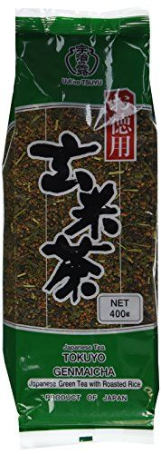 Ujinotsuyu Japanese Loose Brown Rice Green Tea  Twin Packs  2x 1401 Oz  Genmai Cha Genmaicha -- Click image to review more details.Note:It is affiliate link to Amazon.