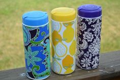 Summer Social Guest Project  Make an Embellished Grocery Bag Container!! {great item to keep in your car}
