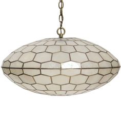 Capiz Shell Chandelier | From a unique collection of antique and modern chandeliers and pendants  at https://www.1stdibs.com/furniture/lighting/chandeliers-pendant-lights/
