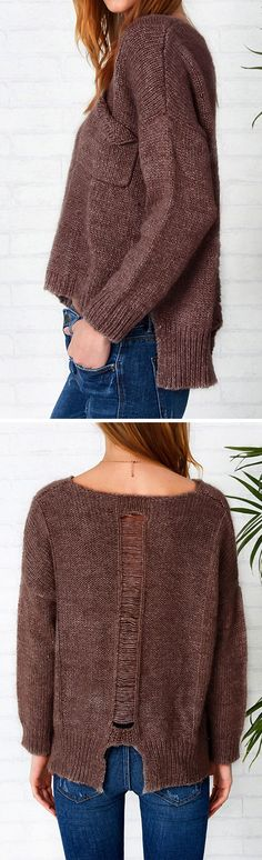 Get it with $31.99 Only + free shipping + easy return! This simple solid color sweater top is such an easy choice to throw on! It's so soft and comfy! It's definitely got that whole cute/comfy thing down!