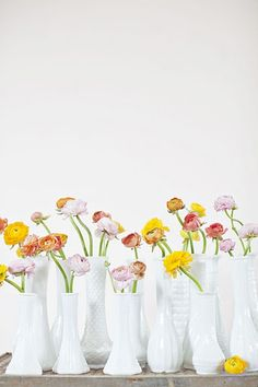 """peaches and cream"" via amy osaba event.floral.design"