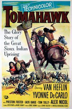 El piel roja (1951) Título original: Tomahawk (EE.UU.) Género: Películas > Historia / Western Director: George Sherman. Duración: 82 minutos.