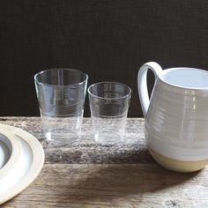 so excited to have these glasses and pitcher in the store
