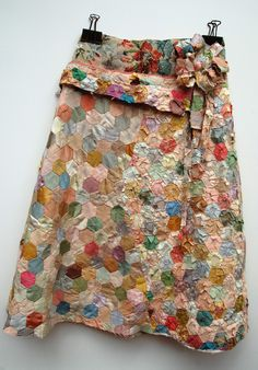 Garments - Mandy Pattullo -Old quilts made into garments, making old garments more precious, manipulation, embellishment, up-cycling....wonderful inspiration here...