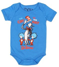 Dr Seuss The Cat in the Hat Yellow esie