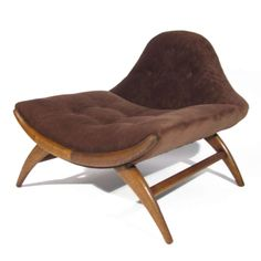 adrian pearsall chair designs flux folding video 70 best furniture images chairs midcentury walnut frame lounge c1960 sofa bench settee