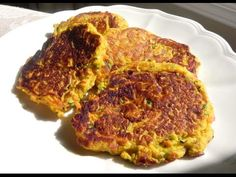 My Pumpkin Zucchini Latkes - for Breakfast, Brunch or a Snack...YUMMY, Healthy & EASY TO MAKE!  WATCH THE VIDEO: https://www.youtube.com/watch?v=4If9rBtMBbc