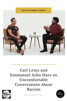 "Why does the American white church seem silent on the issues of racism so prevalent in American society? What's the role religion plays in fuelling or quelling racism? Is there a prescription to systemic racism?  Carl Lentz, lead pastor of Hillsong Church NYC, joined host Emmanuel Acho to address these topics and more in the seventh episode of Uncomfortable Conversations with a Black Man called, ""Race vs Religion."""
