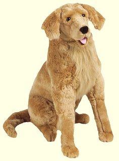 Giant plush dog or horse stuffed animal
