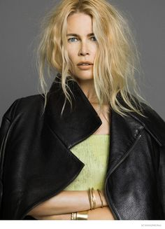 claudia schiffer for SZ Magazine