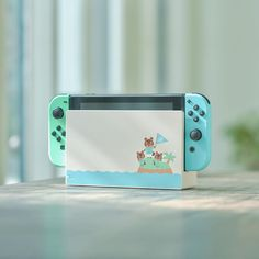 Nintendo Switch Animal Crossing: New Horizon Special Edition - - White with Pastel Green/Pastel Blue Joy-Con Controllers for sale online Jeux Nintendo 3ds, Nintendo Eshop, Nintendo Consoles, Nintendo Room, Nintendo Party, Nintendo Controller, Nintendo Pokemon, Nintendo Games, Buy Nintendo Switch