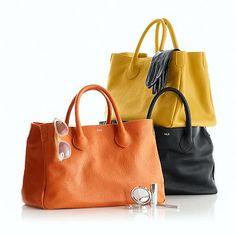 Elisabetta Handbag. Want in grey