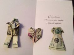 Bride And Groom Money Gift