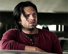 pin: @thewhitelies // We should get moving, I wanna get you screaming before the neighbors come home. *faints* // sebastian stan gif the winter soldier