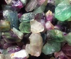 Natural Fluorite for revealing your soul's intended path ~•º•>¡<~>!<~>¡<•º•~