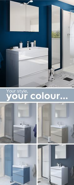 Your style, your colour. What bathroom suits you? Find your perfect design and create a place of escapism and relaxation to unwind in. Your bathroom, your sanctuary.