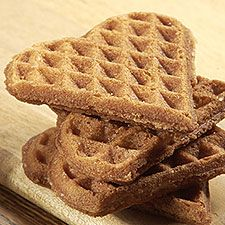 """Sweet, crunchy, buttery... These waffle """"cookies"""" are a traditional treat in Belgium, where street vendors cook and serve them to delighted aficionados.    Read our blog about these cookies, with additional photos, at  flourish."""