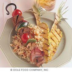 #Healthy #Recipe: Beef and vegetable #kebabs