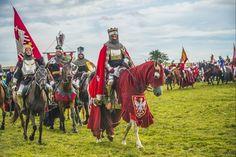 Medieval tournament in Grunwald