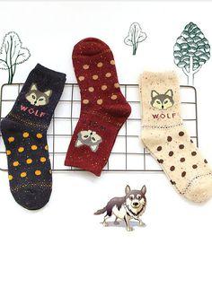 women thick wool socks