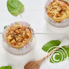Seaside-Cottage: Lecker frische Apfel-Quark-Muffins...geht auch mit Erdbeeren, Heidelbeeren...