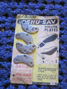 Heel & Toe Savers called Cleets and boy could they get slippery at times.
