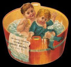 Frear's Bazaar (kids in washtub)