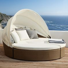 Big Sur Outdoor Day Bed Set. $3690 [from Oka]