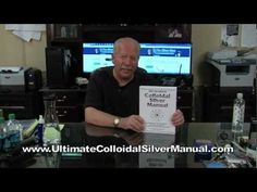 THE ULTIMATE COLLOIDAL SILVER MANUAL by Steve Barwick is now the world's #1 best-selling guide to colloidal silver usage.  It's been fully updated and more than doubled in size, containing 40 chapters and over 540 pages covering everything you need to know about colloidal silver -- the powerful natural infection-fighter the medical bureaucrats in the FDA are trying to keep from you.  Learn more at www.UltimateColloidalSilverManual.com!