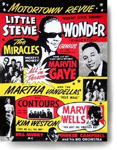 Motortown Revue poster ♡ | #Motown