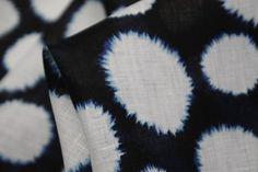 Snow Blossom - Linen - Tessuti Fabrics - Online Fabric Store - Cotton, Linen, Silk, Bridal