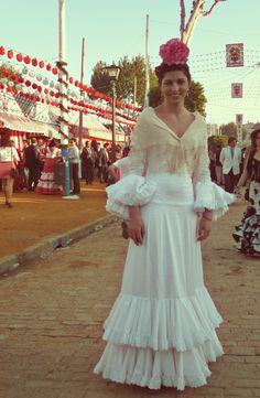 rocio peralta. I love her dress!