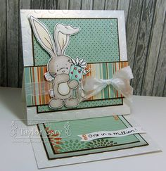 Moxie Fab Thanks! featuring Bebunni from @CraftersCompanion colored with @SpectrumNoir markers, paired with @Sunčica Sikirić Paper paper!