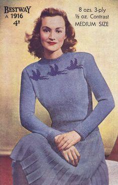 Image result for vintage knitting patterns