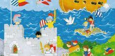 Sarja: Wall Mural - It's a Boy's World Tuotenumero: 00428 Idealdecor valokuvatapetti, 183 x 254 cm