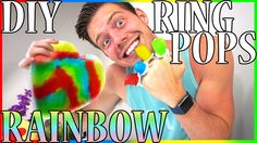 DIY Fabulous RAINBOW RING POPS! Licking for my PRIDE!