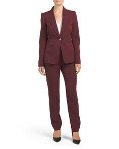 Crepe Pant Suit