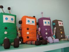 robots would be a great addition to Sparkle Candy!