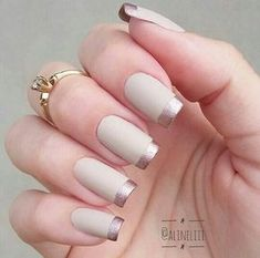 50 Awesome French Tip Nails to Bring Another Dimension to Your Manicure nageldesign french 50 Awesome French Tip Nails to Bring Another Dimension to Your Manicure Classy Nails, Stylish Nails, Cute Nails, Pretty Nails, Hair And Nails, My Nails, French Tip Nails, Perfect Nails, Manicure And Pedicure