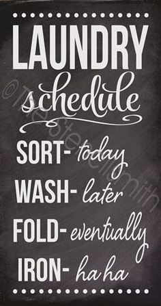 2376 - Laundry Schedule